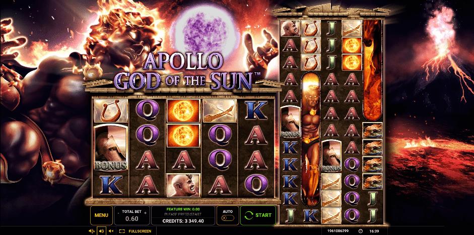 #Apollo God of the Sun #online free spins #bogovi #antička grčka  #online casino bonus