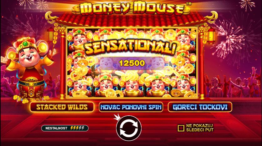 #Money Mouse #online casino bonus #veliki džekpot #kineska tradicija