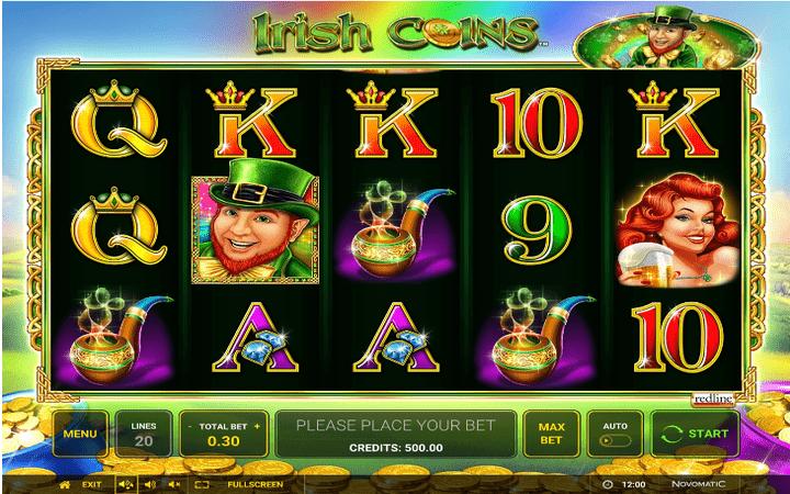 Bonus Casino, Irish Coins