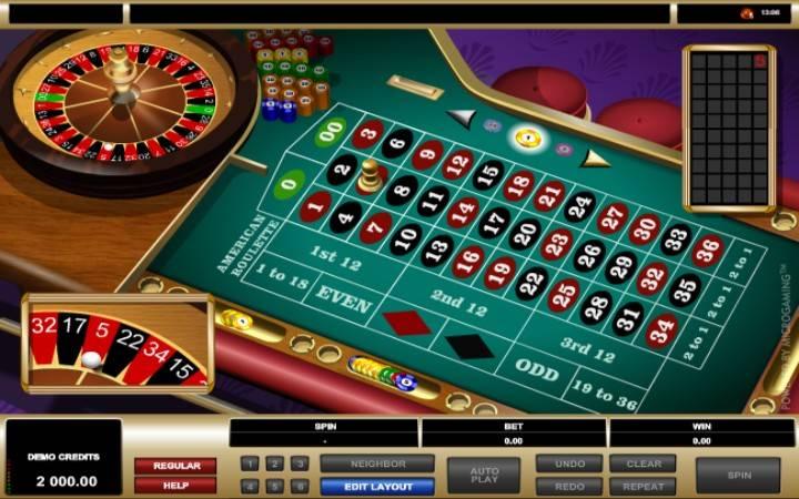 American Roulette, Bonus Casino