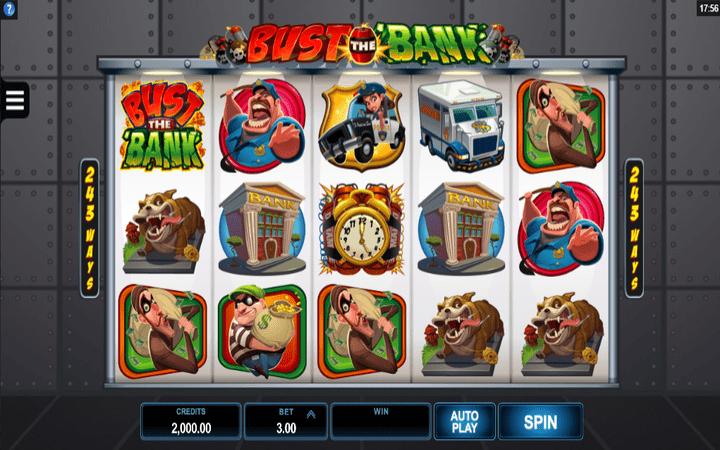 Bust The Bank, online casino bonus
