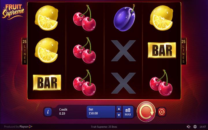 Fruit Supreme, online casino bonus, online free spins