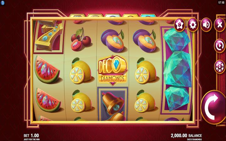 Deco Diamonds, online casino bonus