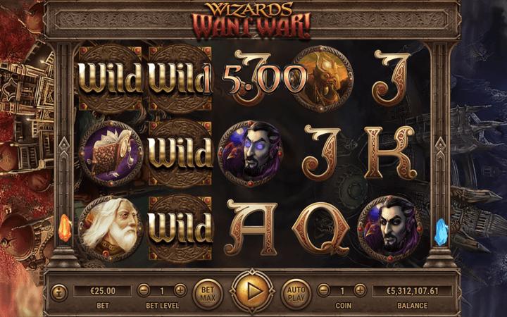 Wizards Want War, Bonus Casino, Habanero