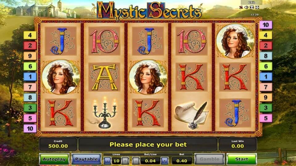 Mystic Secrets, Bonus Casino