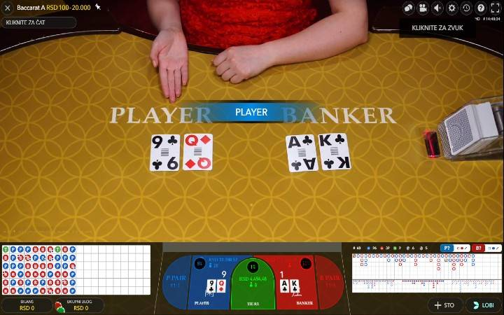 Live Baccarat, Evolution, Online Casino Bonus