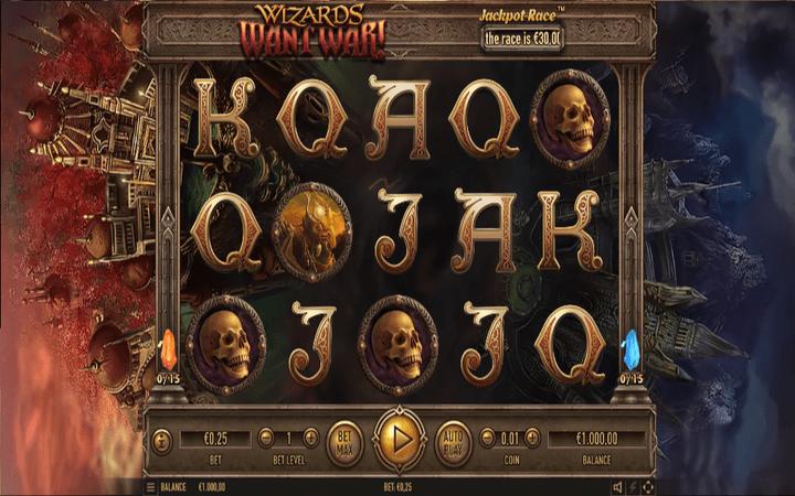 Wizards Want War, Bonus Casino Habanero