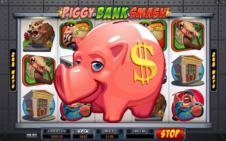 Piggy Bank Smash, online casino bonus