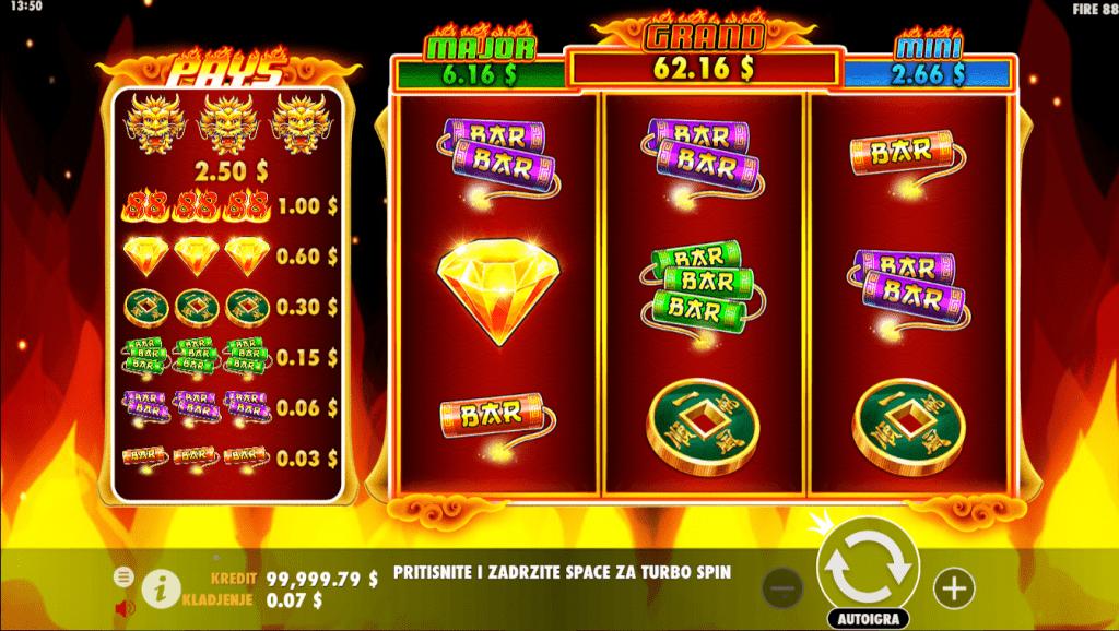 Fire 88, Pragmatic Play, Online Casino Bonus