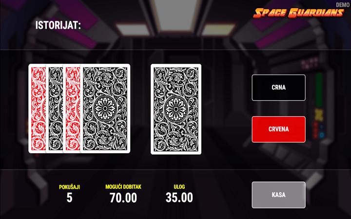Space Guardians, Fazi, Online Casino Bonus
