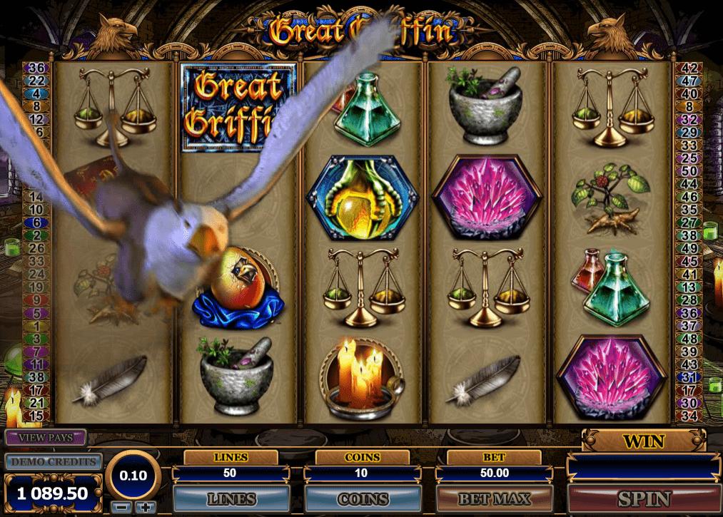 Great Griffin, Microgaming, Online Casino Bonus
