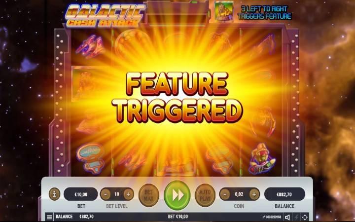 Online Casino Bonus, besplatni spinovi, Galactic Cash Attack