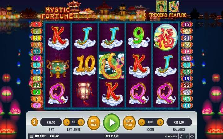 Mystic Fortune, Bonus Casino,