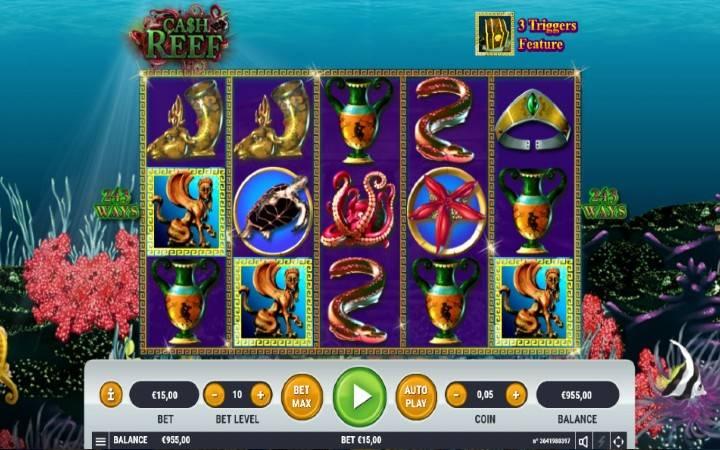 Cash Reef, Bonus Casino