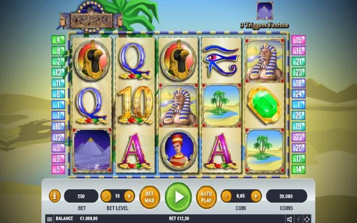 Treasure Tomb, Bonus Casino