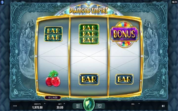 Diamond Empire, Bonus Casino
