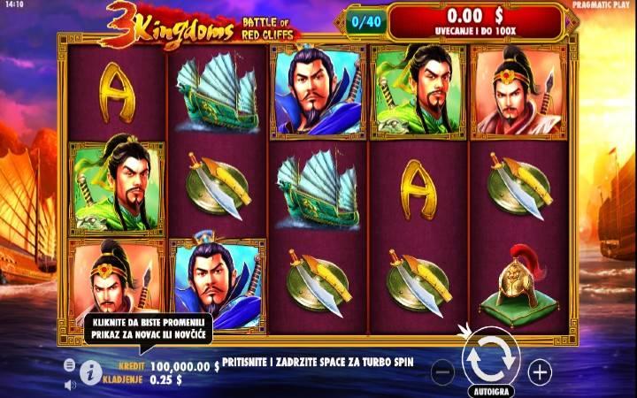 3 Kingdoms Battle of Red Cliffs, Bonus Casino