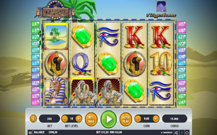 Treasure Tomb, džokeri, Bonus Casino