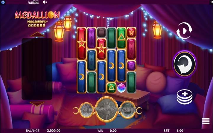 Medallion Megawazs, Bonus Casino