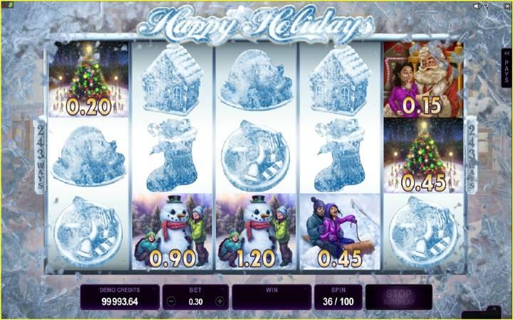 Frosty Fun, Bonus Casino