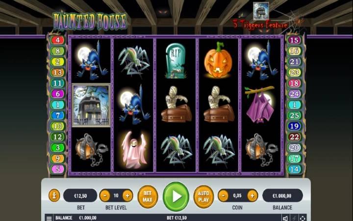 Haunted House, Bonus Casino