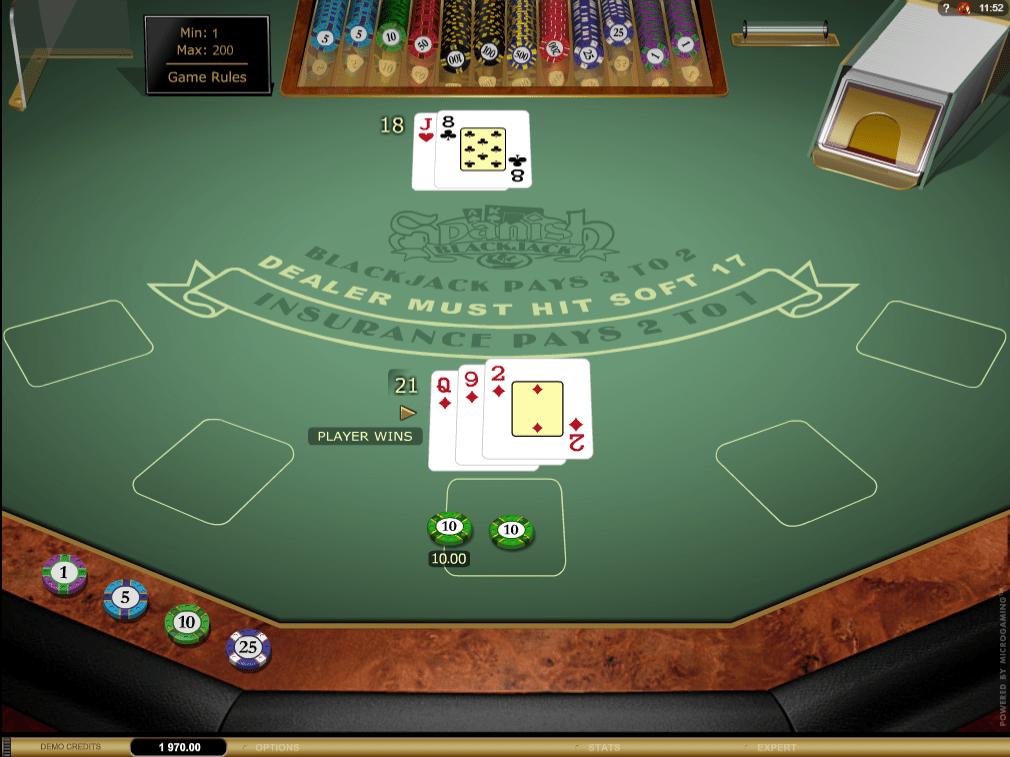 Spanish Blackjack Gold, Win, Pobjeda igrača, Bonus Casino