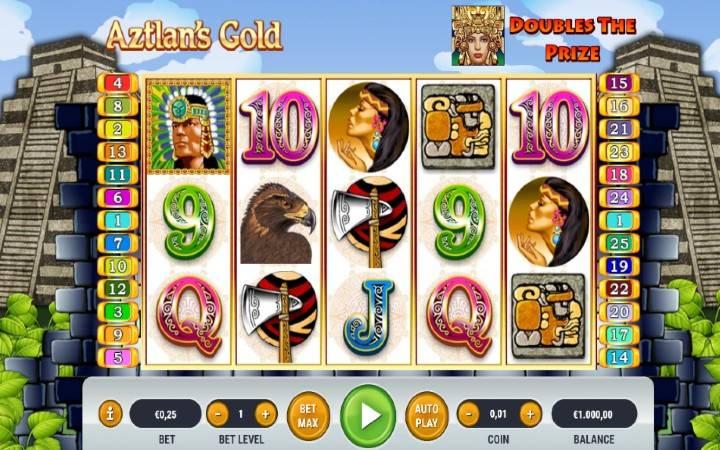 Aztlan's Gold, Bonus Casino