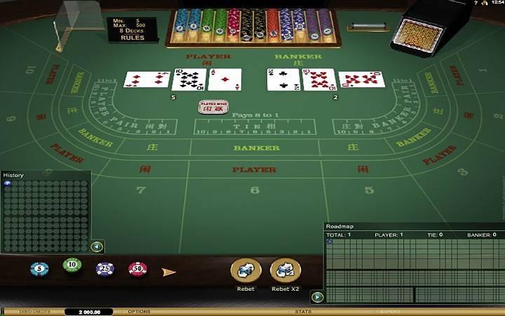 Baccarat Gold, Bonus Casino