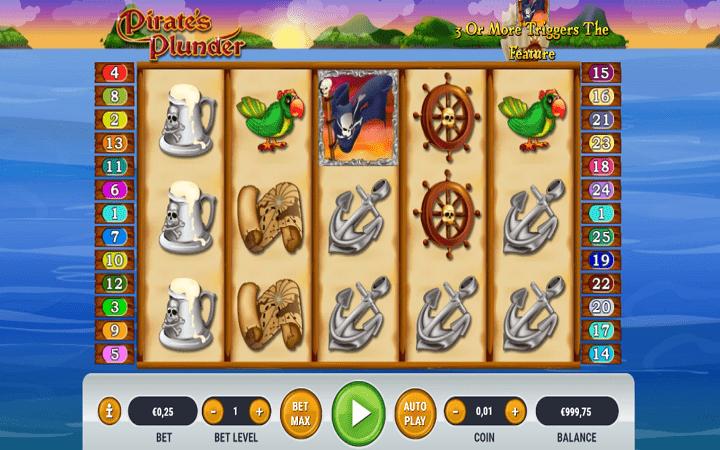 Pirates Plunder, Habanero, Bonus Casino