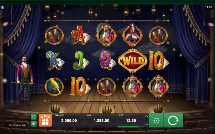 The Great Albini, Bonus Casino, kockanje