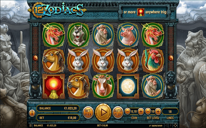 12 Zodiacs, Habanero, Online Casino Bonus