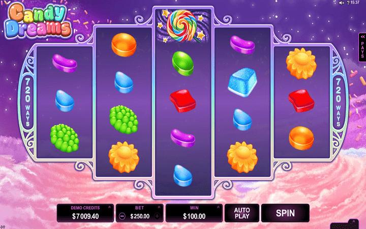 Candy Dream, Microgaming, Bonus Casino
