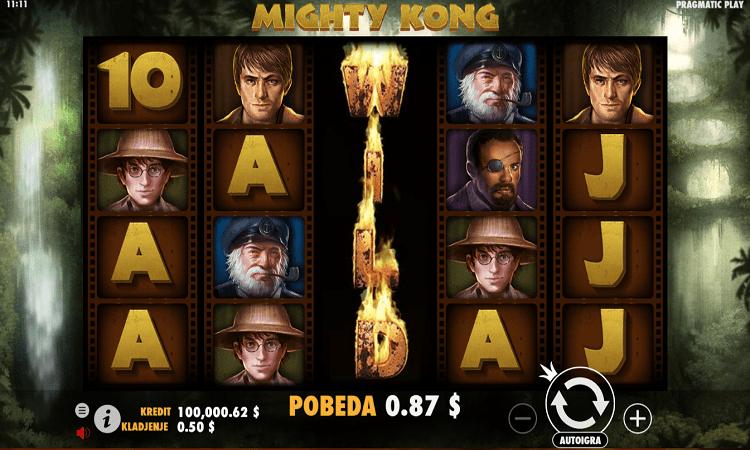 Mighty Kong, Pragmatic Play, Bonus Casino
