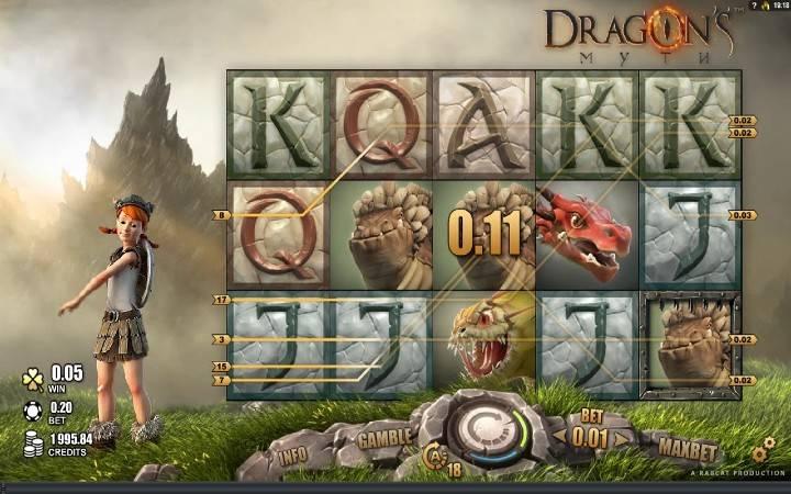 Dragons Myth, Bonus Casino