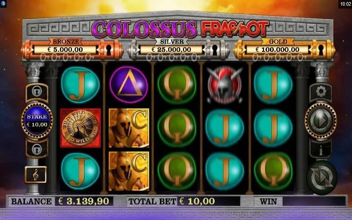 Colossus Fracpot, Online Casino Bonus