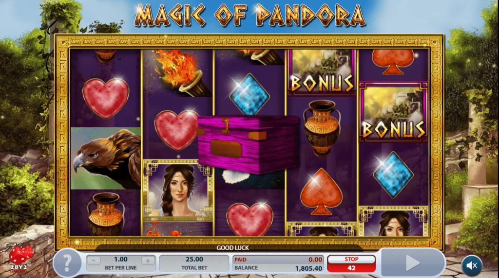 Magic of Pandora, Microgaming, Online Casino Bonus