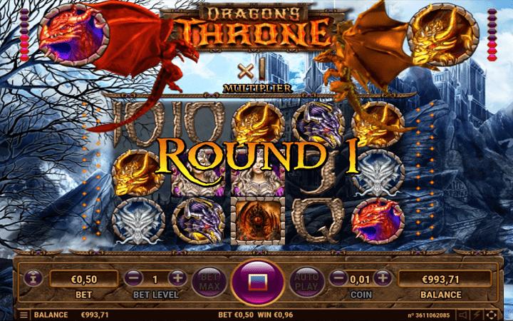 Dragon's Throne, Habanero, Online Casino Bonus