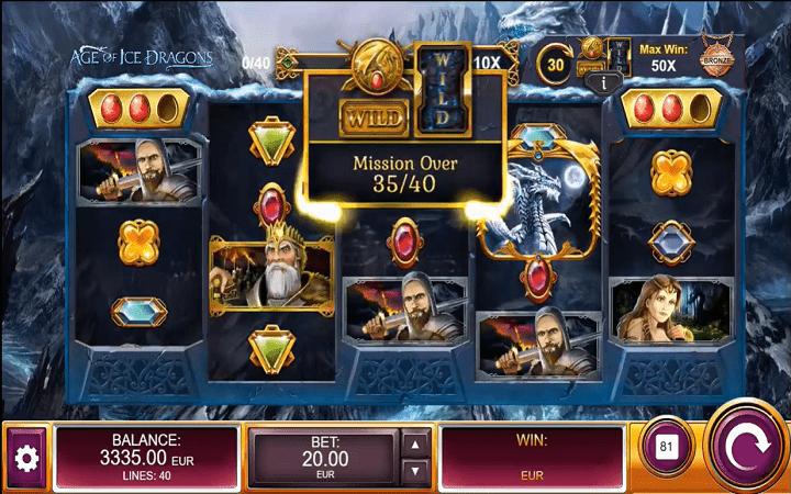 Age of Ice Dragons, Kalamba Games, Bonus Casino