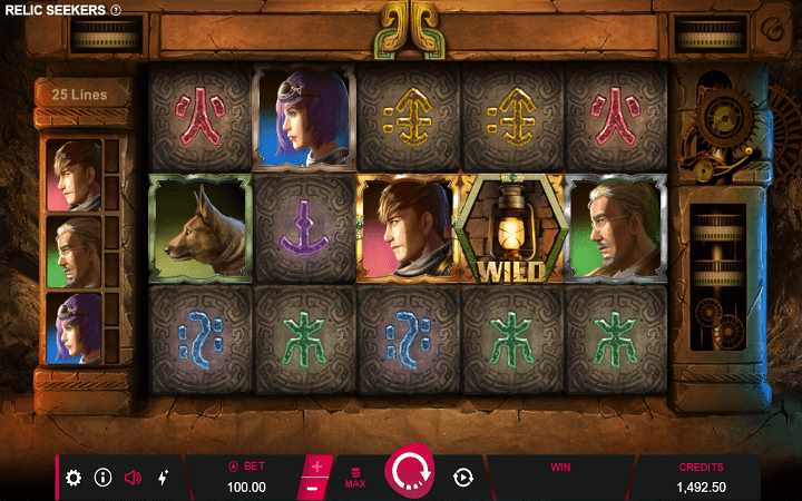 Relic Seekers, Micrograming, Bonus Casino