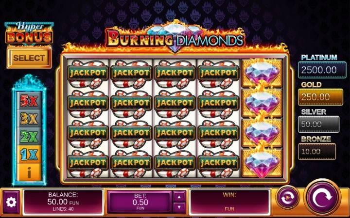 Burning Diamonds, Top 5 klasičnih slotova koje ne smete propustiti, Online Casino Bonus