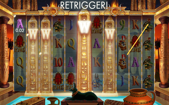 Temple of Luxor, Microgaming, Genesis Gaming, Online Casino Bonus,