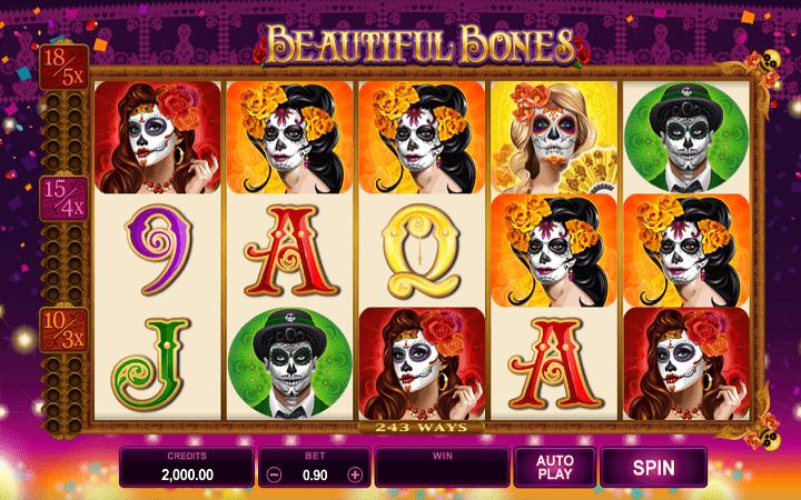 Beautiful Bones, Microgaming, Online Casino Bonus