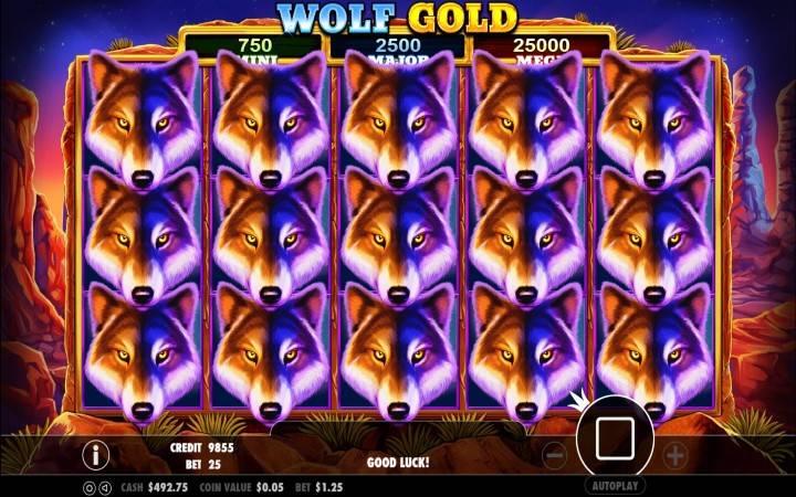 Wolf Gold, Bonus Casino