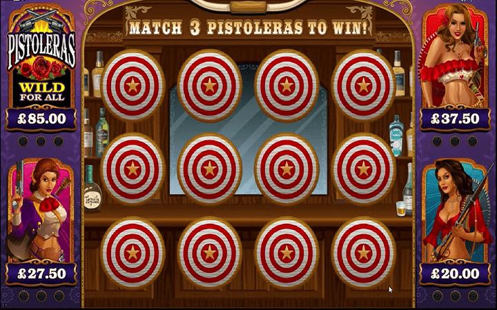 Pistoleras, Microgaming, Online Casino Bonus