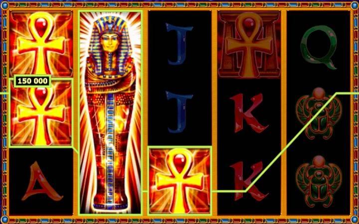 Pharahs Tomb, simboli