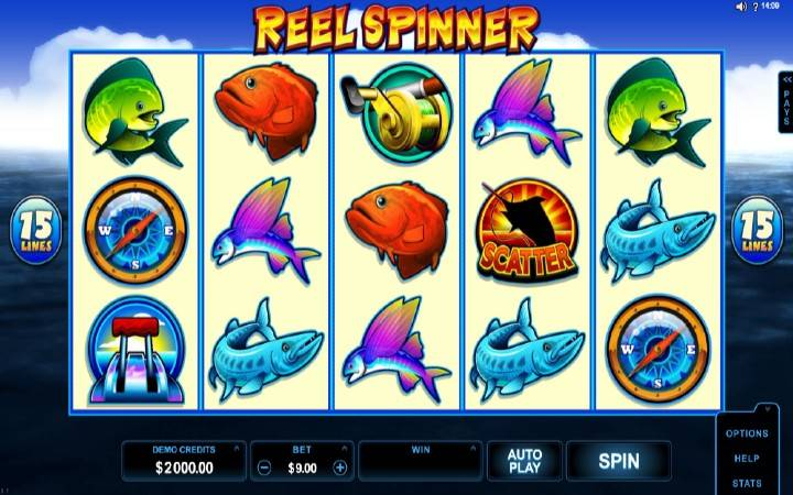 Reel Spinner, online casino bonus