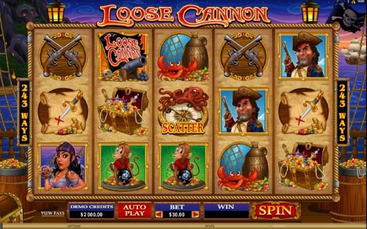 Loose Cannon, online casino bonus