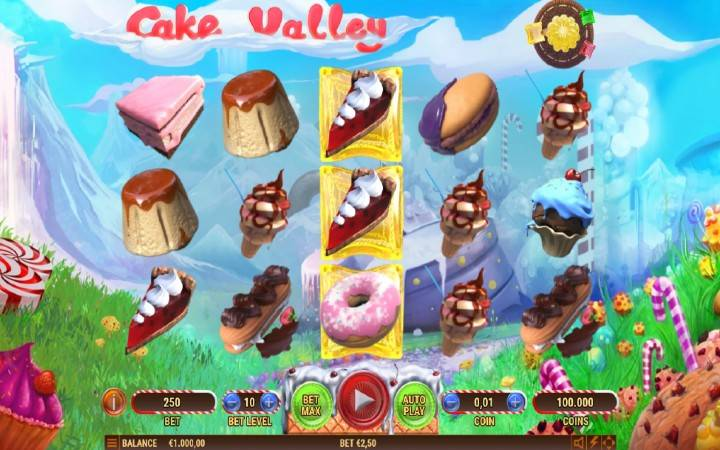 Cake Valley, Bonus Casino