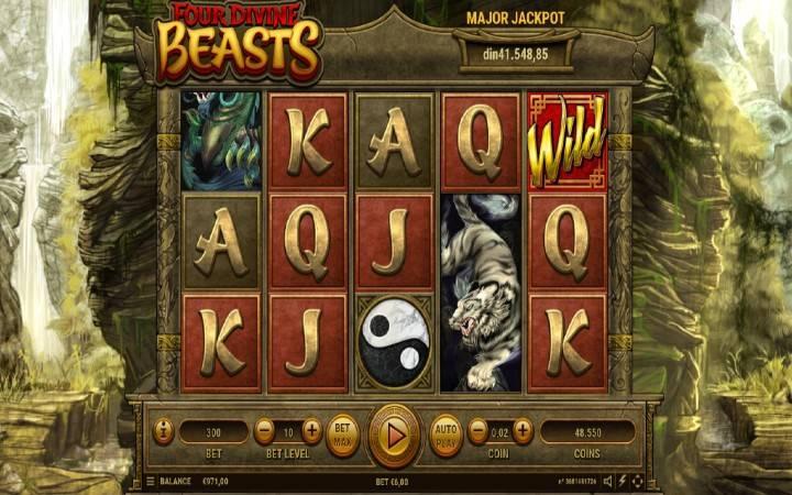 Four Divine Beasts, Bonus Casino