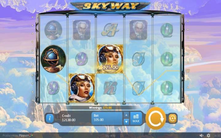 Online casino bonus, Sky Way